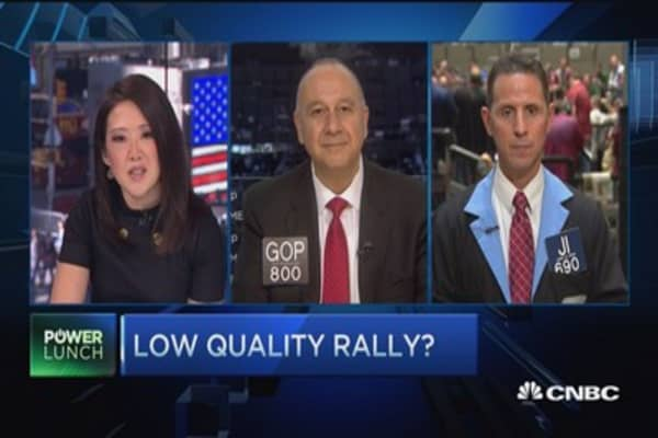 Is this a 'low quality' rally?