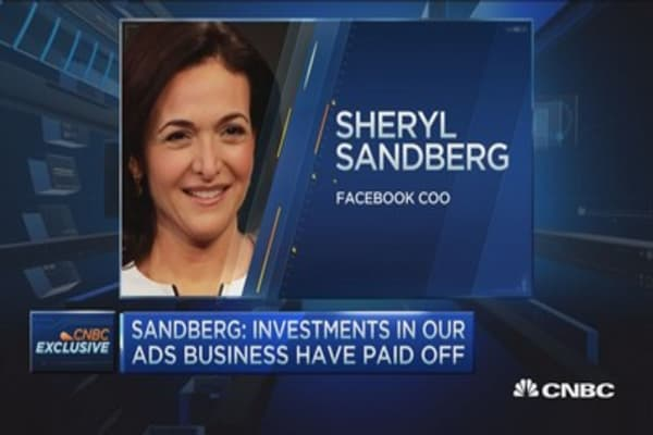 Facebook the best minute and best dollar for advertisers: Sandberg