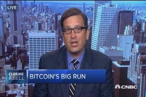 Why is Bitcoin up over 50% in 3 months?