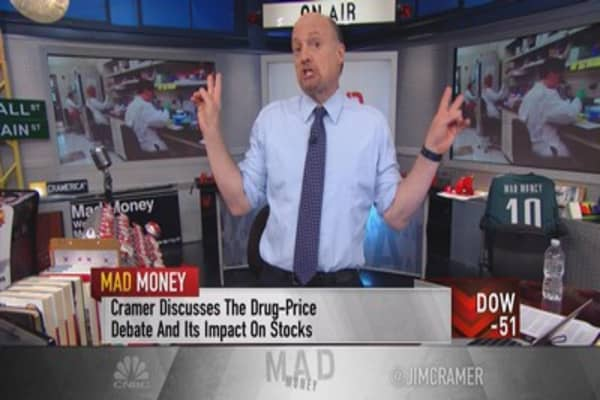 Cramer: Guilt by association market