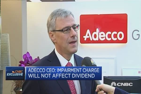 Adecco CEO on French labor market