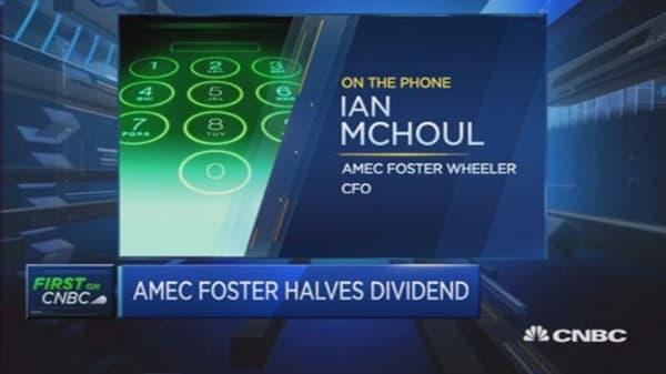 We don't anticipate oil price bounce: Amec CFO