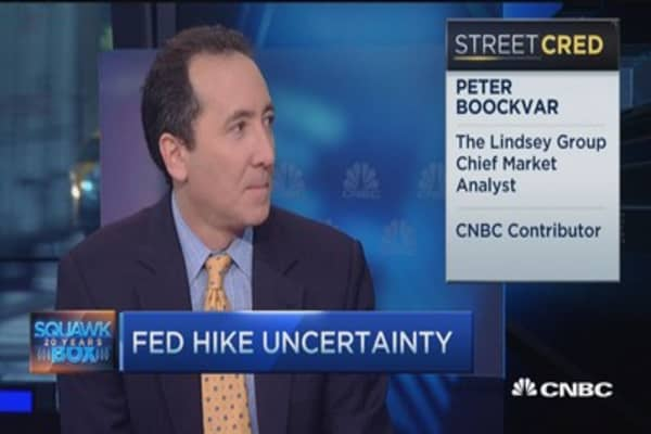 Fed 'emotionally dependent' and stuck at zero: Peter Boockvar