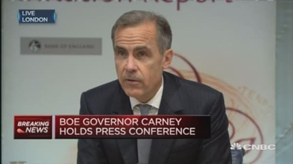 Rate rises will be gradual & limited: BoE