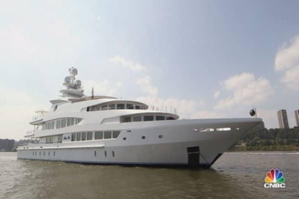 Climb aboard the Lady Lola superyacht