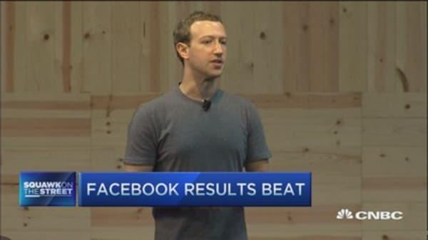 Corporate America, go learn from Facebook: Cramer