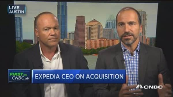 Expedia, HomeAway CEOs on $3.9B acquisition