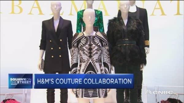 H&M's Balmain launch draws crowds