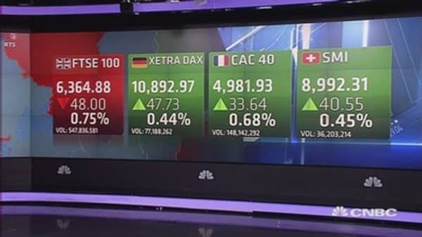 Europe shares end mixed after dovish BoE