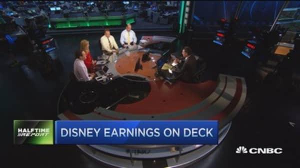 Second-half trades on Disney