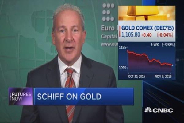Peter Schiff on gold