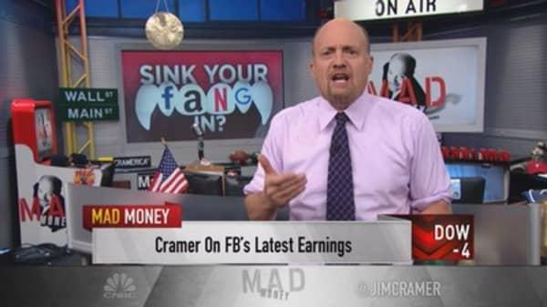 Cramer: I was a moron about Facebook