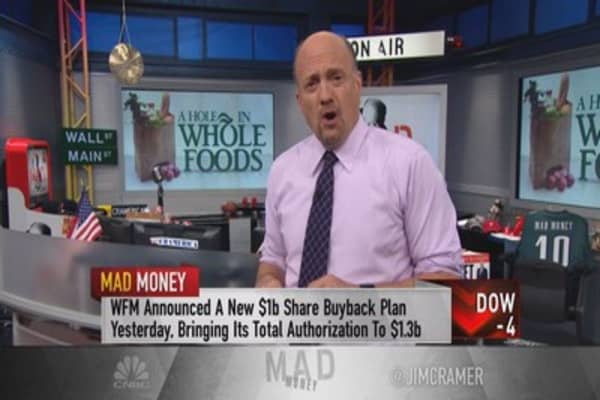 Cramer: Whole Foods needs to get back to basics