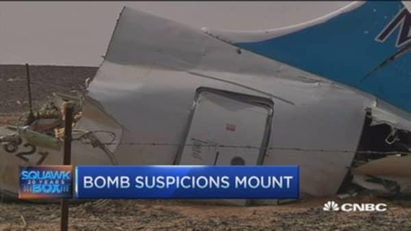 Did terror attack take down Russian jet?