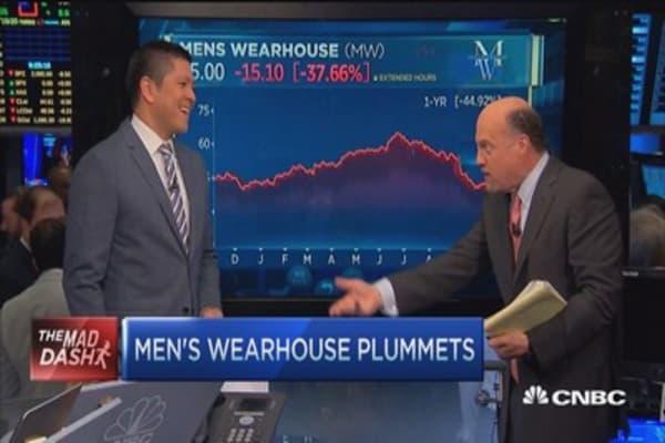 Cramer's Mad Dash: MW plummets