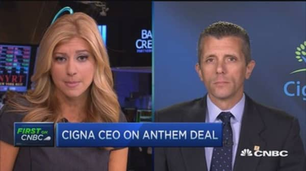 Anthem deal expands choice: Cigna CEO