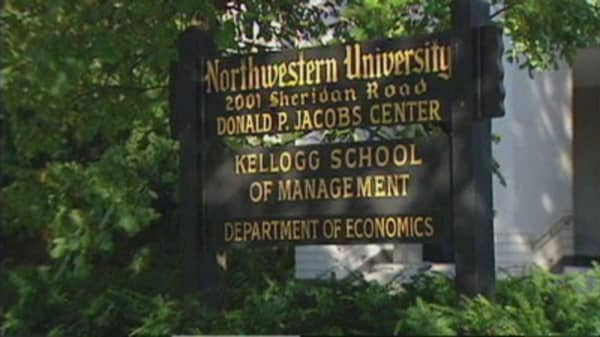 Cheating scandal at Kellogg graduate school