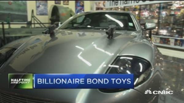 These billionaires live out James Bond fantasy