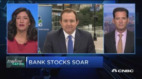 Trading Nation: Financials surge