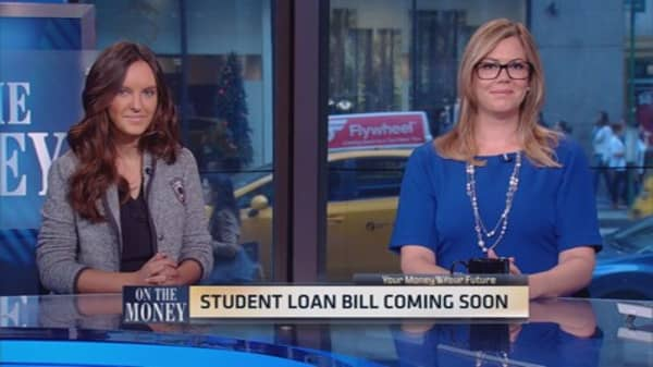 College loan payback time