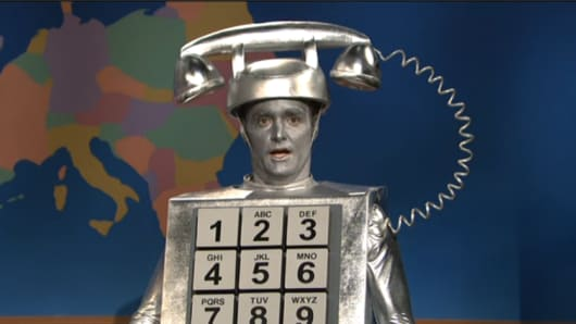 Robocall sketch on SNL.