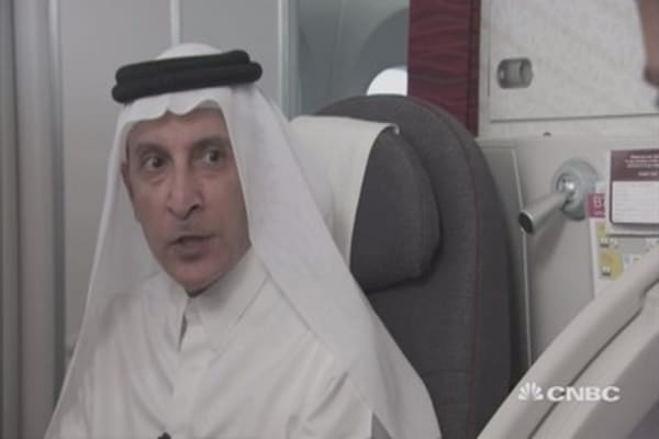 EU carriers scared of competition: Qatar Airways CEO