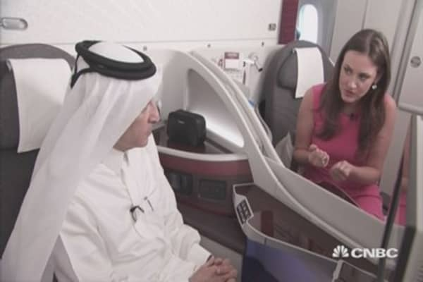 China may end supplier monopoly: Qatar Airways CEO