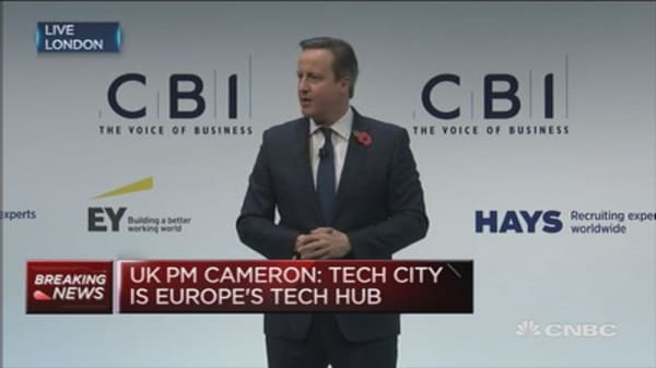 UK still isn't exporting enough: PM