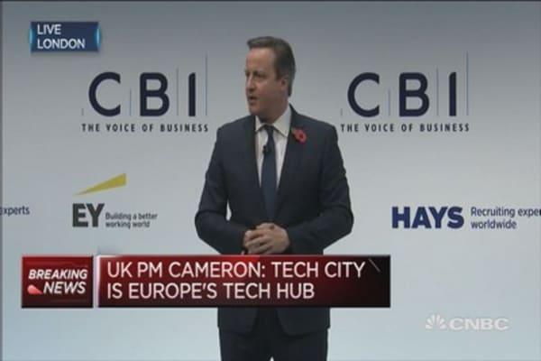 UK still isn't exporting enough: PM