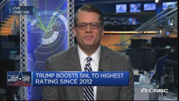 SNL: Good for ratings, not for Trump