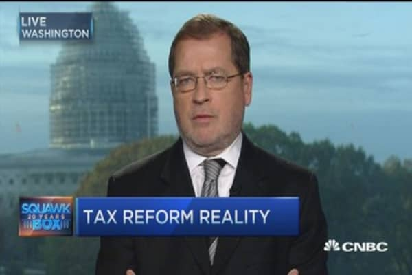 Norquist: GOP tax plans unified