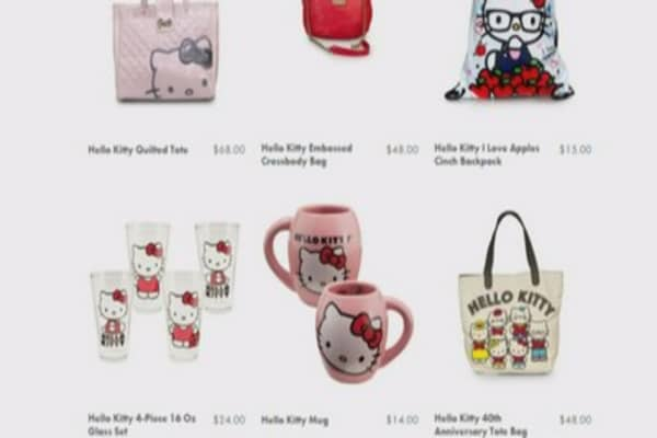 Hello Kitty quite the cat's meow