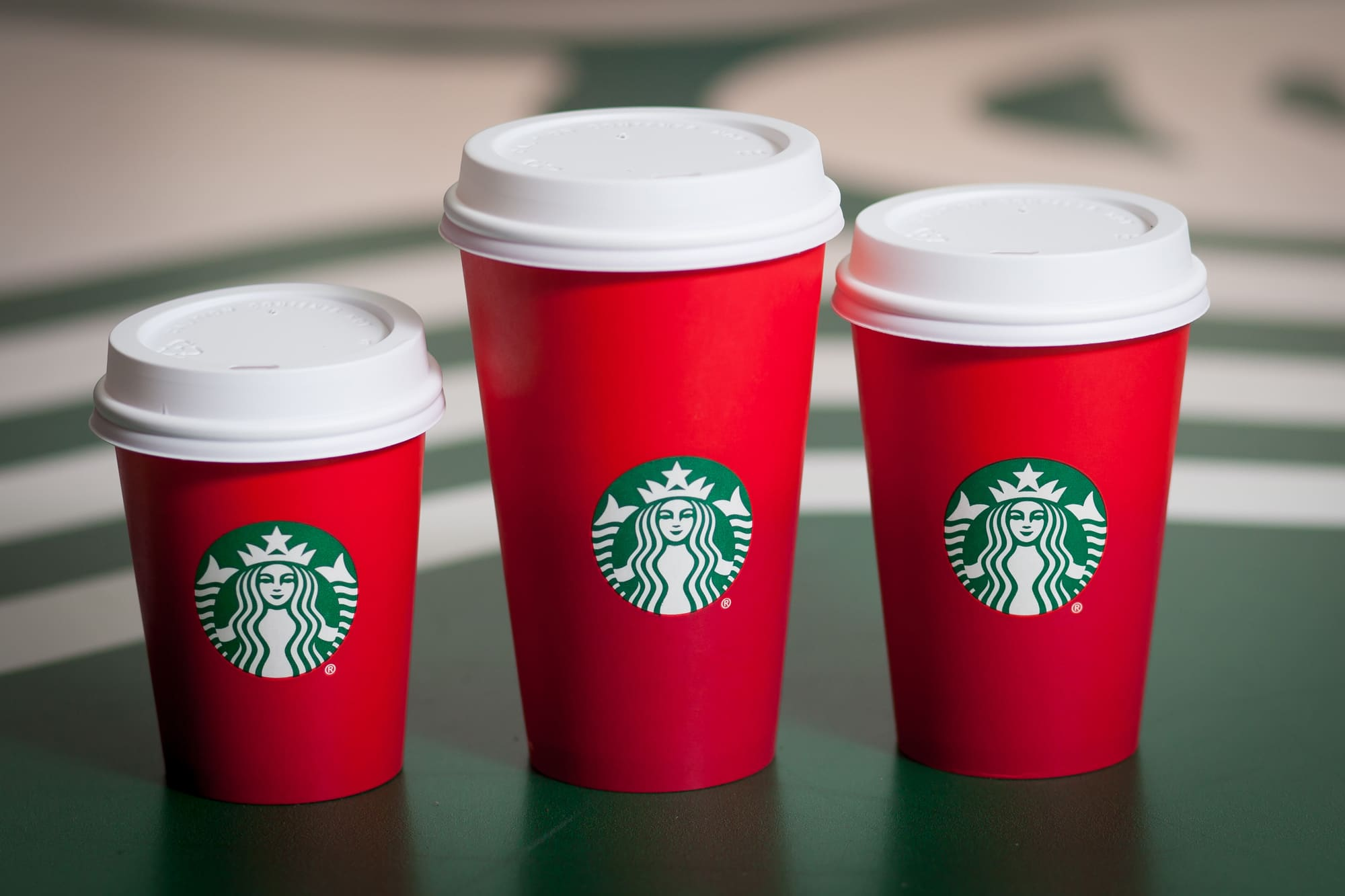 Starbucks Christmas cup brews controversy on social media