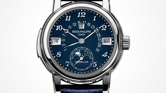 This Patek Philippe watch sold for $7.3 million at auction.
