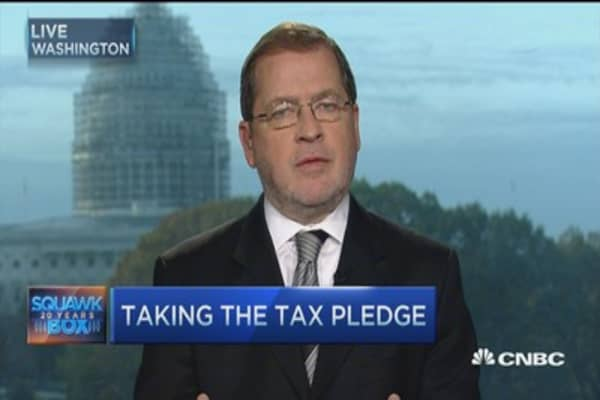 Norquist: Jeb undercut GOP on taxes in 2012