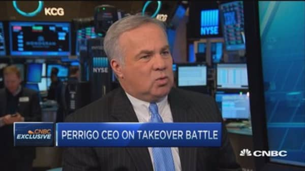 Perrigo at mercy of shareholders
