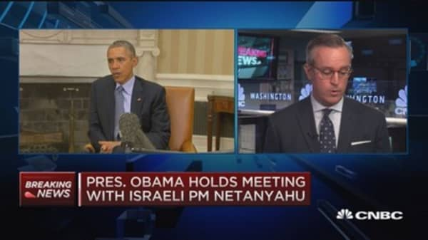 Israeli PM Netanyahu, President Obama discuss Syria