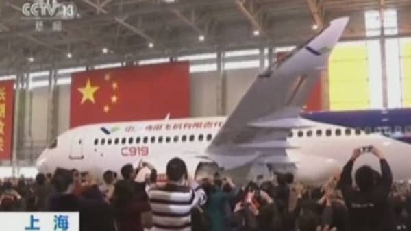 COMAC may rival Airbus, Boeing