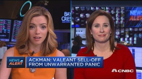 Bill Ackman reiterates confidence in Valeant