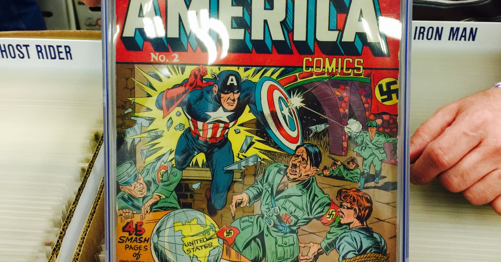Comic Books Value In Hot Market