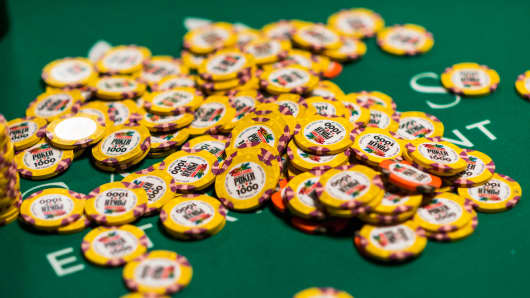 Chips at 2015 World Series of Poker
