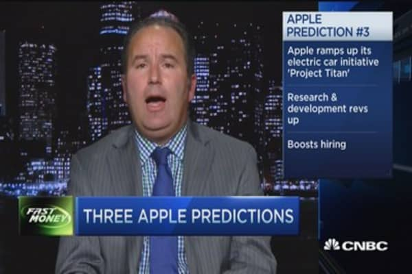 Three Apple predictions