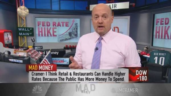 Cramer's rate hike reality check—Get used to pain!