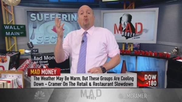 Cramer: Don't try to bottom fish this group yet