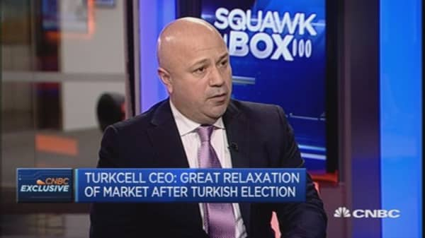 Market relaxed after Turkish elections: Turkcell CEO
