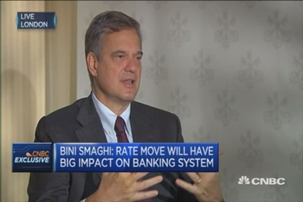 Ex ECB's Bini Smaghi on more QE