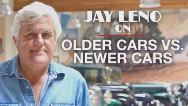 Jay Leno: Newer cars are like young women