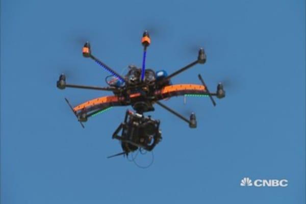 Tracking drones via sound