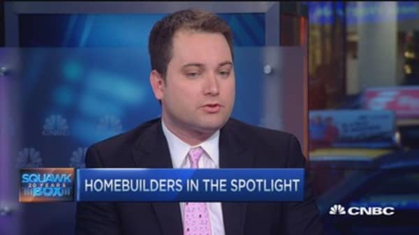 Home builders in the spotlight