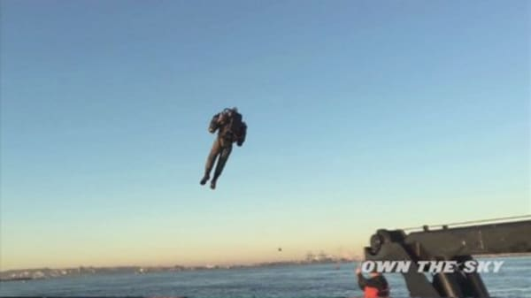 The 'world's only true jetpack'